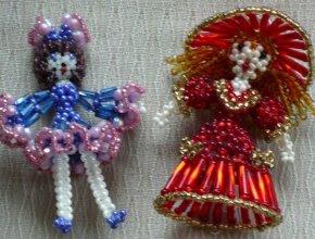 Куклы из бисера
