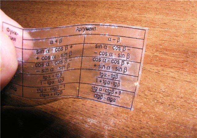 как сделать шпаргалку на госэкзаиен по билетам