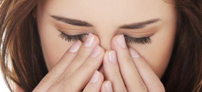 Сухость носа и глаз